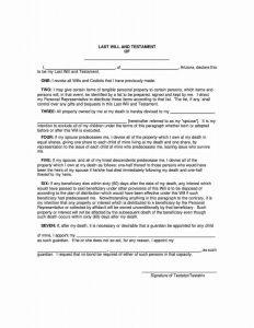 Fillable Arizona Last Will and Testament Form