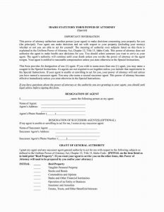 Fillable Idaho Power of Attorney Form