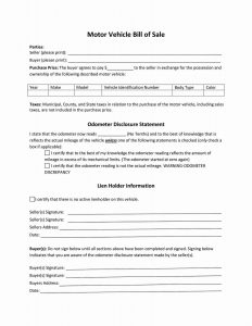 Fillable Maine Vehicle Bill Of Sale Form