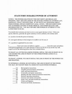 Fillable Texas Power of Attorney Form